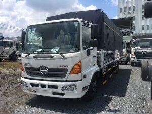 Xe tải thùng Hino FC9JNTC Thùng siêu dài 7,2m