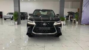 Bán Lexus LX 570S Super Sport 08 chỗ màu đen, nội thất nâu da bò, sản xuất 2021, xe giao ngay.