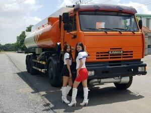 Xe Xăng Dầu Kamaz 6540(8x4) Bồn 23 Khối