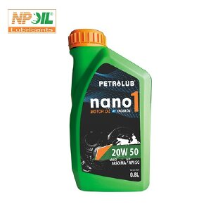 Dầu Động Cơ Xe Máy Nano 1, Api Sg/sae 20w50 - 1l