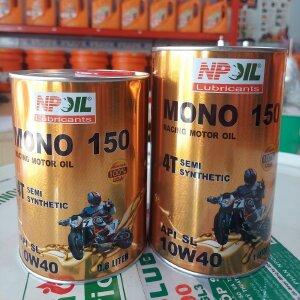 Dầu Động Cơ Xe Gắn Máy 4t - Mono 150 0.8l/1l