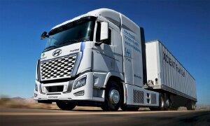 Hyundai Xcient - xe tải chạy hydro