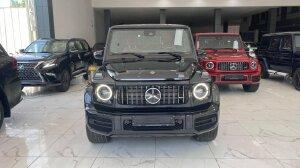 Bán xe Mercedes Benz G63 AMG màu đen, sản xuất 2021, xe giao ngay.