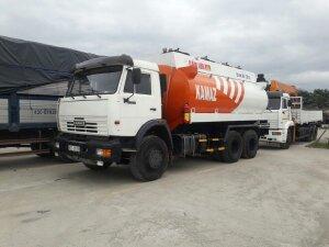 kamaz bồn xăng dầu 18m3