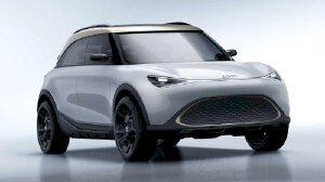 Smart Concept #1 - xe điện thiết kế Đức, công nghệ Trung Quốc