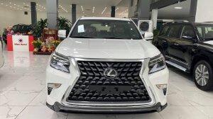 Bán Lexus GX460 Platinum sản xuất 2021, màu trắng bản full nhất Nhập Trung Đông, xe có sẵn giao ngay.