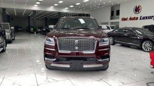 Bán xe Lincoln Navigator L Black Label, màu đỏ mận, sản xuất 2021 mới 100%, xe giao ngay..