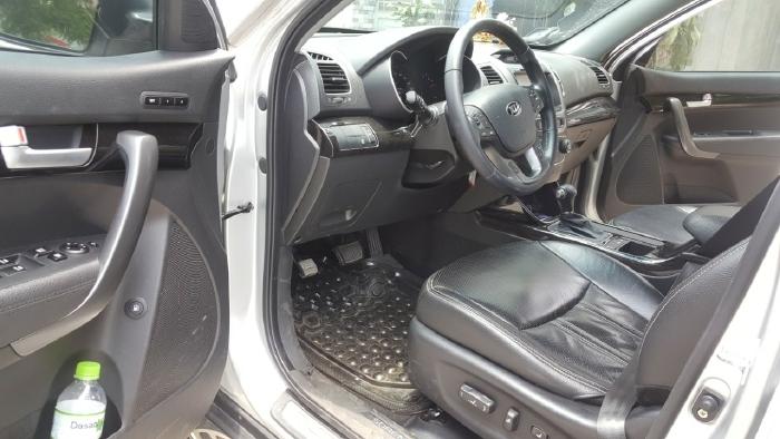 Bán Kia New Sorento GATH 2.4AT màu bạc máy xăng số tự động bản sản xuất 2014 biển SG mẫu mới 4