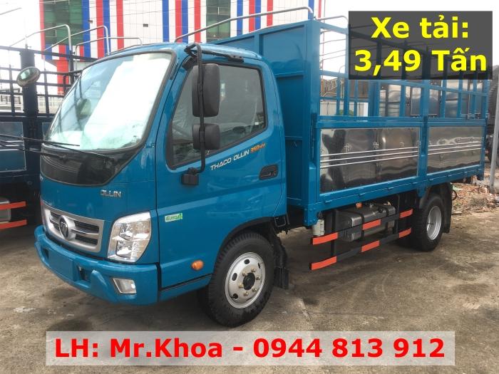Thaco Lái Thiêu cần bán xe tải OLLIN 350.E4 - Hỗ trợ vay vốn 75%