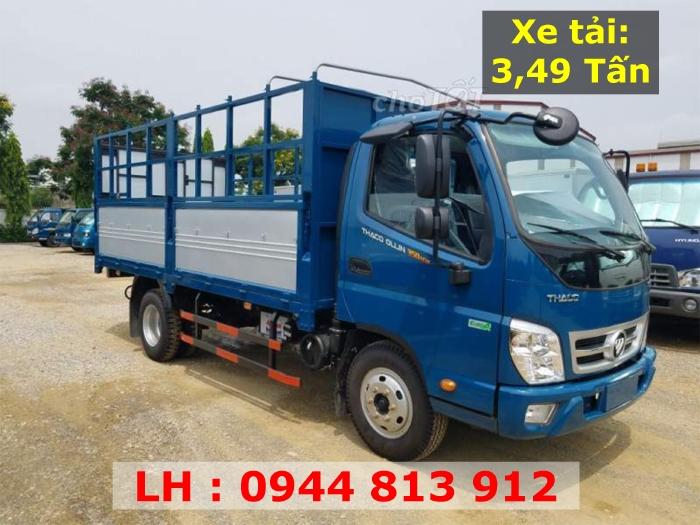 Thaco Bình Dương bán xe Ollin 350 E4 - 3,49 Tấn - Giá tốt tại Bình Dương
