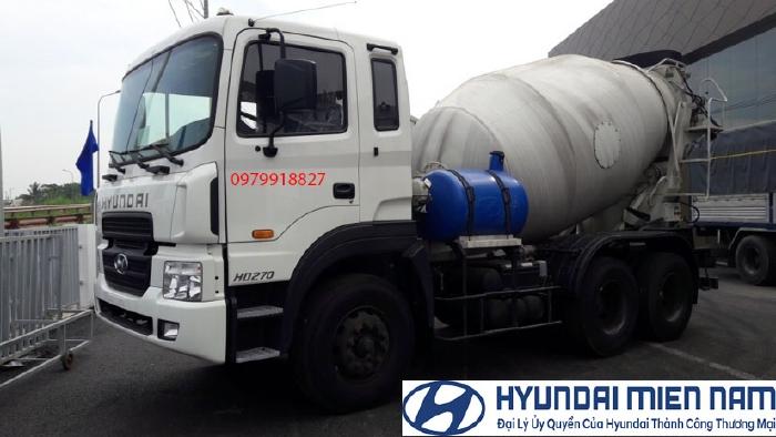 Xe Hyundai Bồn trộn bê tông 0