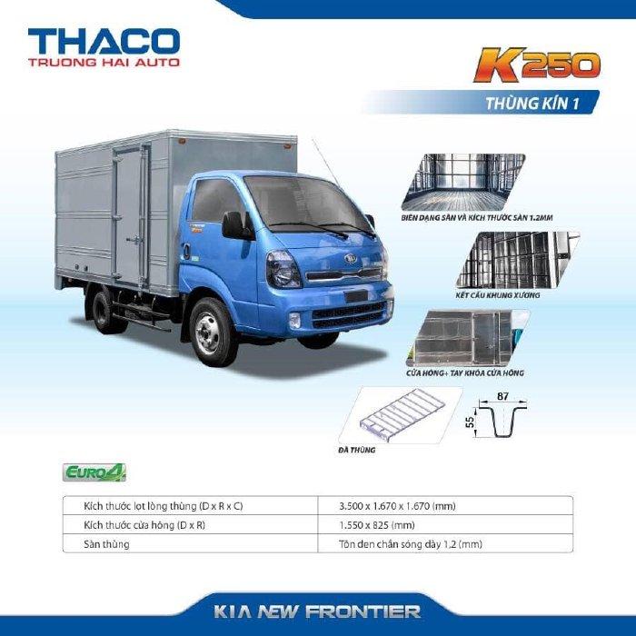 Bán Kia giá rẻ 1,4 Tấn - 2,4 Tấn - K200 - K250 Xe Tải Thaco Bình Phước 3