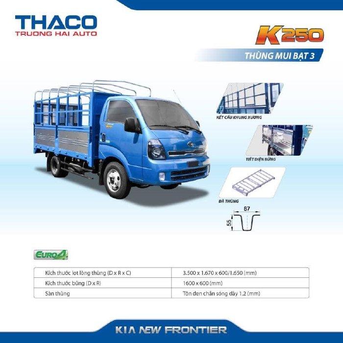 Bán Kia giá rẻ 1,4 Tấn - 2,4 Tấn - K200 - K250 Xe Tải Thaco Bình Phước 4