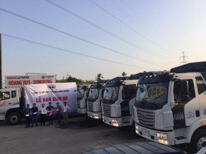 Xe tải thùng dài 10m, xe tải faw 7t25 thùng dài 10m độc quyền tại miền Nam. 3