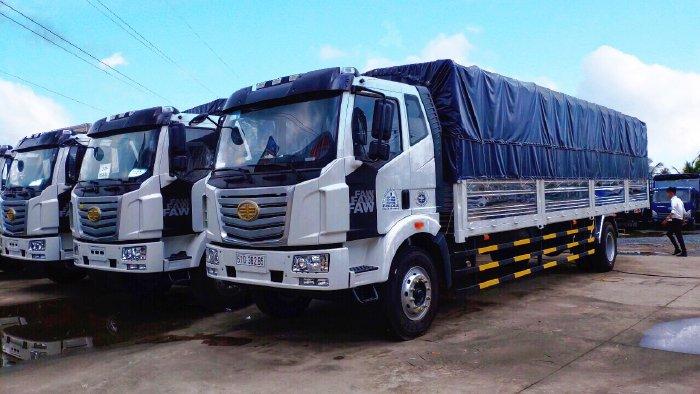 Xe tải thùng dài 10m, xe tải faw 7t25 thùng dài 10m độc quyền tại miền Nam. 7