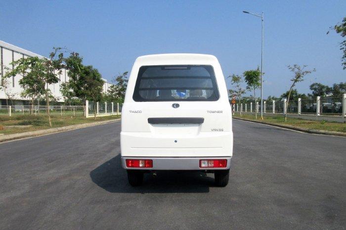Bán xe tải thaco van 2 chỗ chạy phố hỗ trợ trả góp