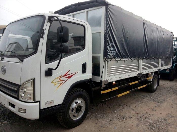 Bán xe FAW Yuchai 7 tấn thùng dài 5m 6