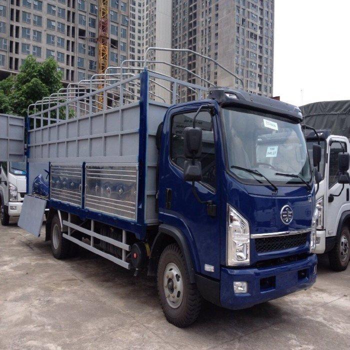 Bán xe FAW Yuchai 7 tấn thùng dài 5m 4