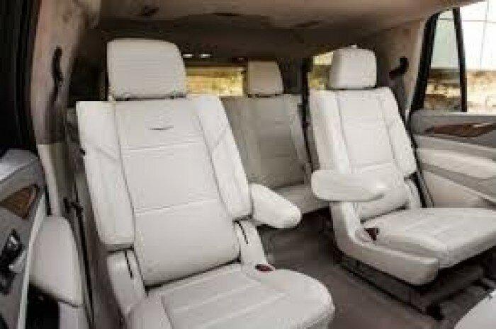 Bán Cadillac Escalade 3.0 Platinum ESV 2021, màu trắng, nhập khẩu Mỹ