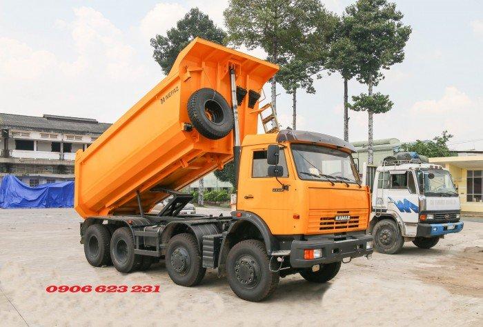 Bán Xe ben Kamaz 6540 (8x4) / Bán Xe ben 20 tấn Kamaz 15m3  tại Bình Dương 14