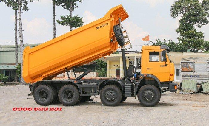 Bán Xe ben Kamaz 6540 (8x4) / Bán Xe ben 20 tấn Kamaz 15m3  tại Bình Dương 12