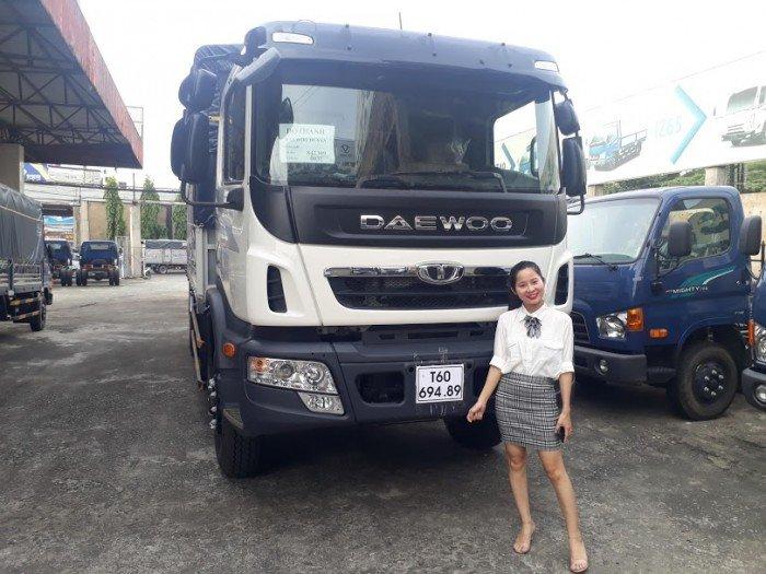 Daewoo 9 tấn thùng dài 7,6m