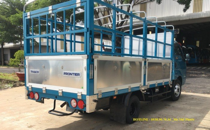 Bán Xe Tải KIA K250 thùng 5 bửng  khung nhôm, tải 2,5 tấn. xe sẳn giao ngay. Báo giá tháng 6/2021