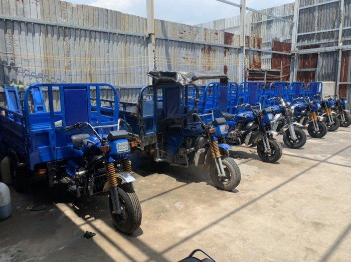 Mua xe ba bánh xe ba gác xe lôi tại xưởng Huy Anh TPHCM 14