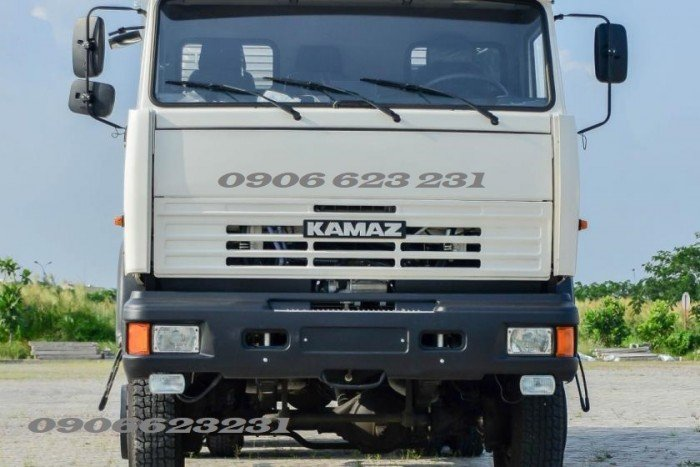 Mua bán xe tải thùng 3 chân 15 tấn tại Bình Phước   Kamaz thùng 6m3 & 7m1