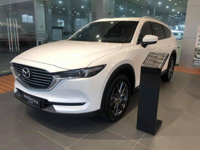 Bán xe Mazda CX8 Luxury 2020 màu trắng giá 1.049 triệu đồng 1