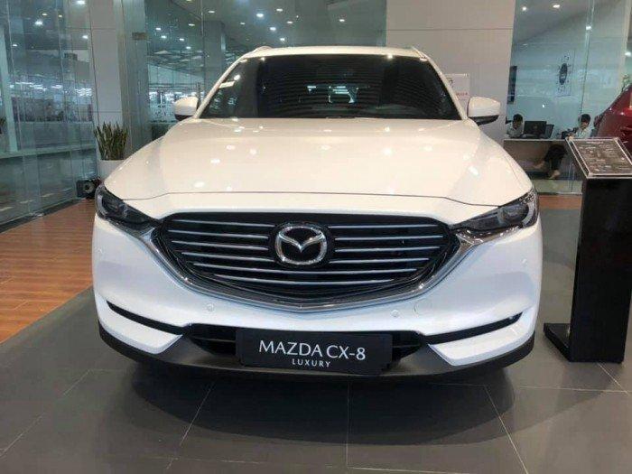 Bán xe Mazda CX8 Luxury 2020 màu trắng giá 1.049 triệu đồng 0