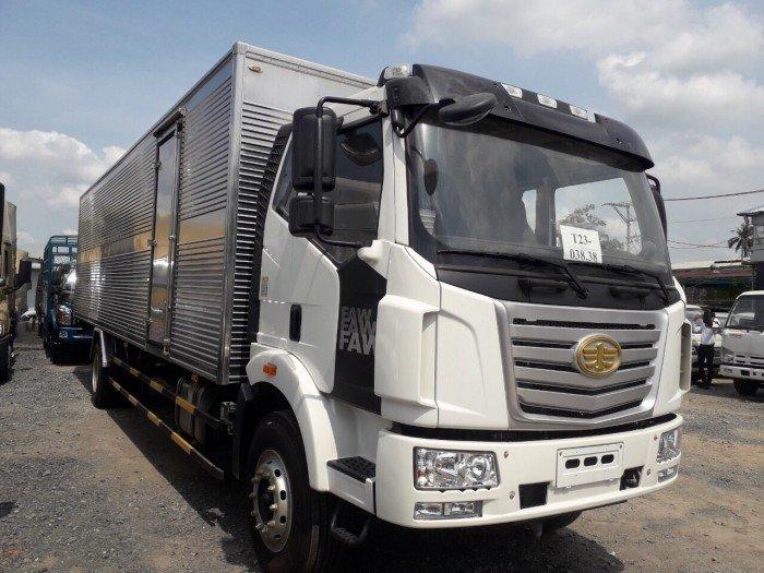 xe tải faw 7 tấn thùng kín dài 9m7 giá rẻ n nhất thị trường 0