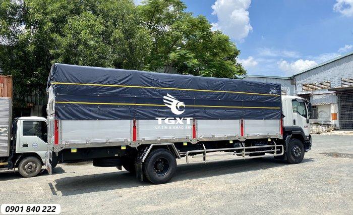ISUZU FVR900 Thùng bạt tải 8 tấn thùng 7M4, 8M2, 9M6
