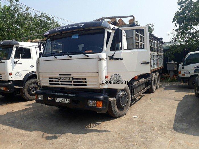 Giá bán xe tải thùng Kamaz 3 chân cập nhất mới nhất | Xe tải Kamaz 15 tấn nhập khẩu [ thùng 6m3, 7m1, 7m8, 9m]