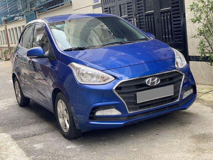 Hyundai I10 2019 tự động màu Xanh bản full rất mới.