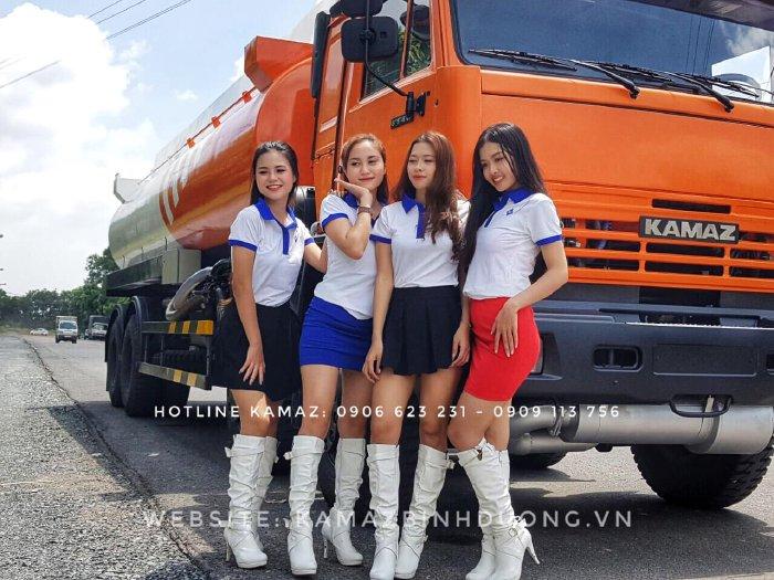 Bán xe bôn Xăng dầu Kamaz 23m3 mới tại Bình dương | Xe bồn Kamaz 23m3 nhập khẩu