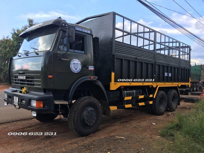 Bán xe tải 3 cầu chuyên dụng | Kamaz 53228 (6x6) thùng 6m7 nhập khẩu Nga