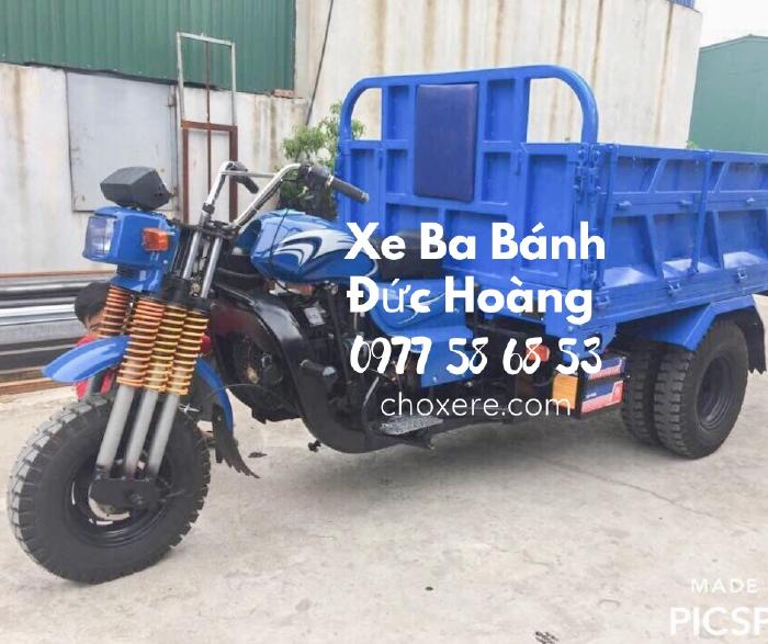 Xe ba bánh Hoa Lâm có gắn định vị phòng chống mất xe