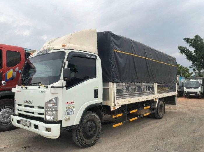 Isuzu 5 tấn thùng mui bạt dài 6,2 mét đời 2015 đăng ký 2016