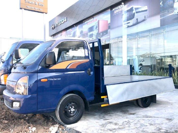 Bán Xe Tải Hyundai Porter H150 Thùng lửng 1.5 tấn Xe Có Sẵn Giao Ngay Trong Ngày