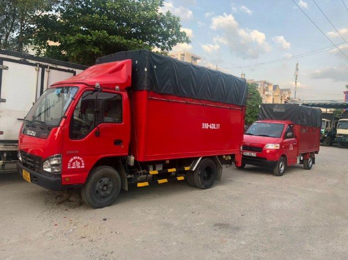 Thanh lí Isuzu QKR230 cũ thùng bửng nâng đời 2018