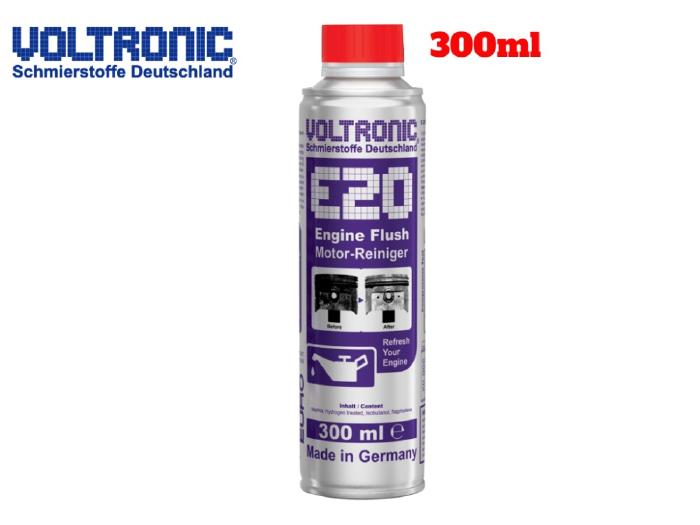 Dung Dịch Vệ Sinh Rửa Động Cơ Voltronic E20 Engine Flush 300ml-VE20300