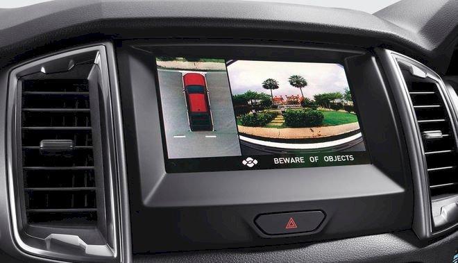 Xe bổ sung camera 360 độ kết hợp với đầu ghi kỹ thuật số Kenwood thu lại hành trình xe di chuyển