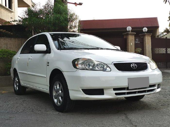 bán Toyota Altis 2003, số sàn, màu trắng