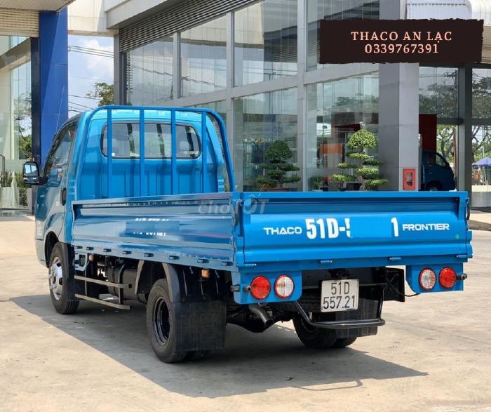 Giá Kia K250 thùng lửng, xe tải máy dầu nhập khẩu linh kiện Hàn Quốc, chất lượng bền bỉ.
