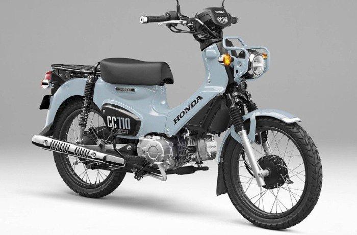 Honda Cross Cub 110 bản đặc biệt, chỉ sản xuất 2.000 xe trên thế giới(1)