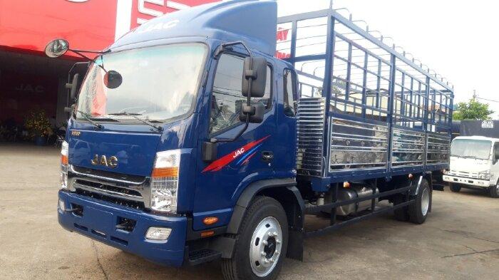 Gía xe tải JAC 9 Tấn . xe tải jac n900 9 tấn thùng dài 7m chỉ 200 nhận xe