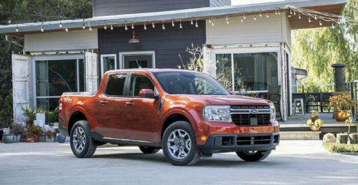 Bán tải Ford Maverick nhỏ hơn Ranger, giá từ 460 triệu đồng