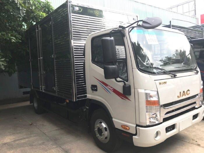 Xe tải jac 5 tấn thùng dài 5m3