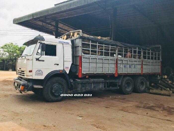 Tải thùng Kamaz 15 tấn nhập khẩu thùng 6m3 & 7m1 / Tải thùng 3 chân Kamaz NGa